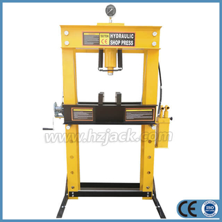 50 Ton Hydraulic Shop Press With Gauge