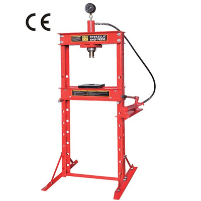 20 ton shop press with portable pump