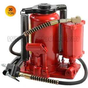 Air Hydraulic Bottle Jack 20 Ton Capacity