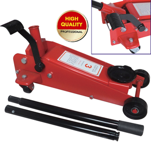 hydraulic floor jack with side foot pedal