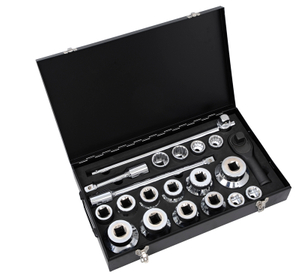 "1"" 21Pcs Heavy Duty Socket Wrench Sets (25mm series)"