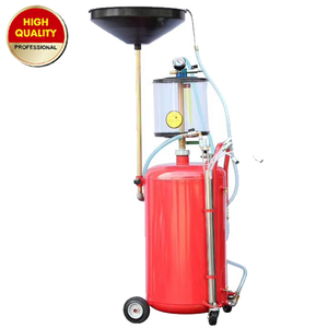 100L Oil drainer with glass tank