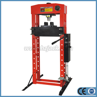 Hydraulic Shop Press with Double Speed Pump