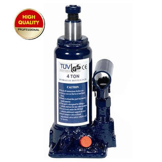 4ton hydraulic bottle jack with safety valve