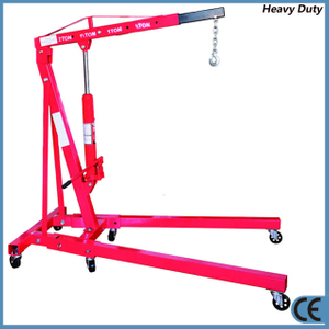 2 Ton Foldable Hydraulic Shop Crane for Car