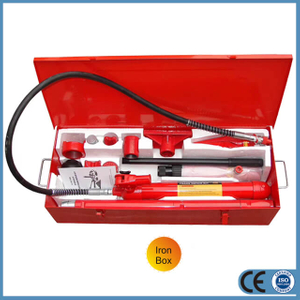 10 Т Manual Porta Power Hydraulic Jack for Car