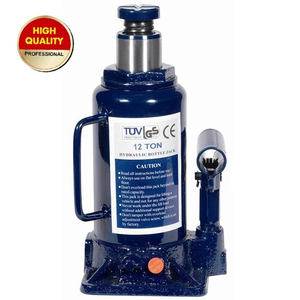 12ton hydraulic bottle jack with safety valve