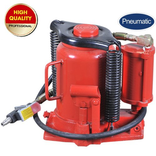 Air hydraulic bottle jack 32 ton