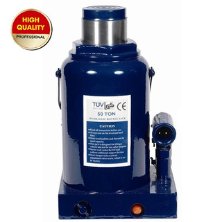 50ton hydraulic bottle jack with safety valve