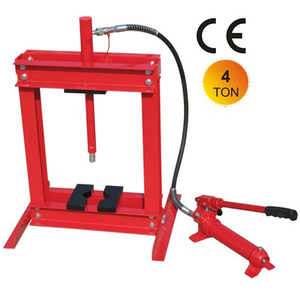 4ton shop press with portable pump