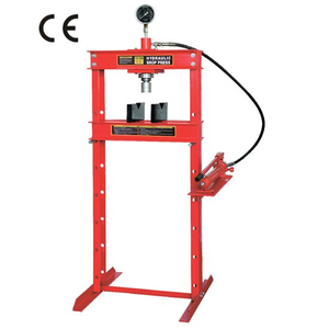 12 ton shop press with portable pump