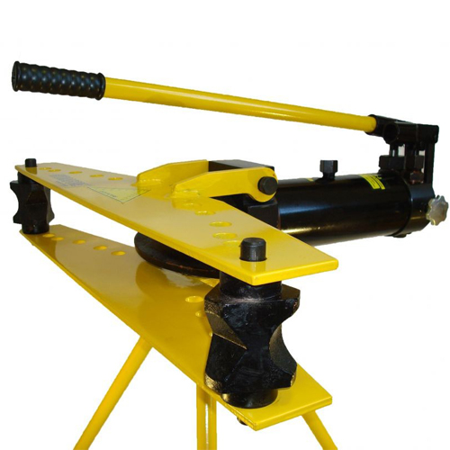 hydraulic pipe bender with tripod