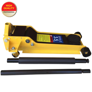 3.5 ton low profile hydraulic floor jack with dual pump