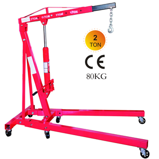 Foldable 2 ton Shop Crane 80kg