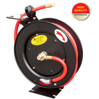 Auto retractable air hose reel